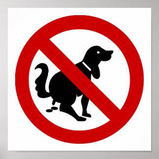 NO Dog Fouling ⚠ Thai Sign ⚠ Print