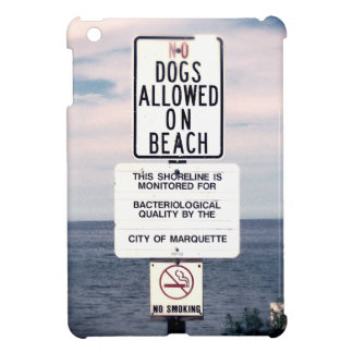 No Dogs Allowed On Beach Cover For The iPad Mini