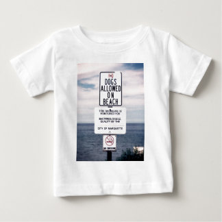 No Dogs Allowed On Beach Infant T-shirt