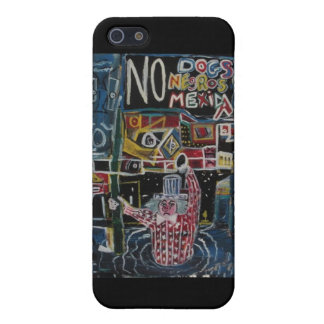 NO DOGS CASE FOR iPhone SE/5/5s
