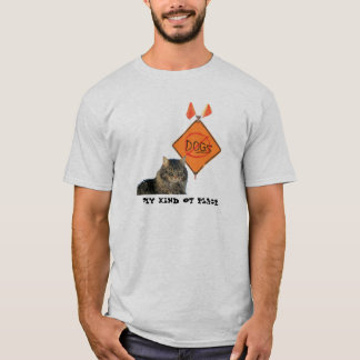 No Dogs road sign T-Shirt