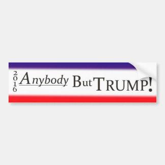 No Donald Trump Bumper Sticker