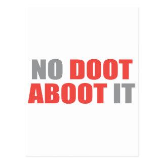 No Doot Aboot it Postcard