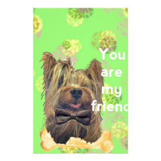 No doubt dogs are the best friends stationery