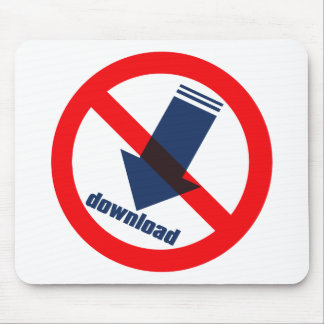 NO_download Mouse Pad