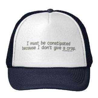 No doy los gorras de una mierda