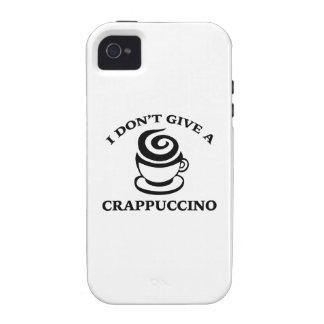 No doy un Crappuccino iPhone 4/4S Carcasa