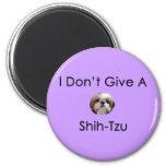 No doy un imán de Shih Tzu