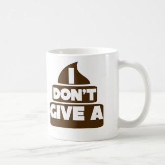 No doy un POO Tazas De Café