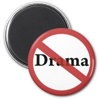 No Drama Allowed! 2 Inch Round Magnet