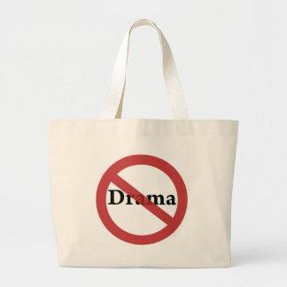 No Drama Allowed! Jumbo Tote Bag