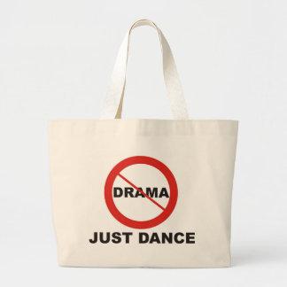 No Drama Just Dance Large Tote Bag