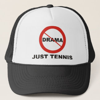 No Drama Just Tennis Trucker Hat