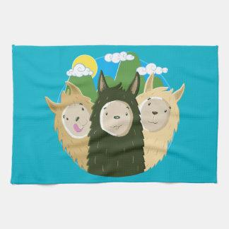 No Drama Llamas Brothers Towel