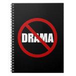 No Drama Note Book