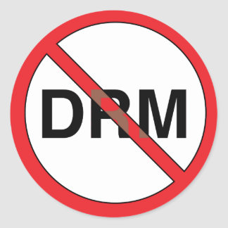 No DRM Stickers