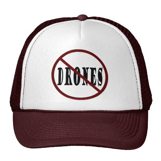NO DRONES Peace Love You Dope Hat