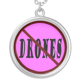 NO DRONES Peace Love You Dope Jewelry