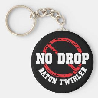 No Drop Baton Twirler Keychain