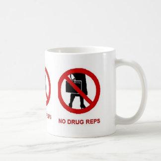 No Drug Reps Mug