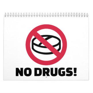 No drugs calendar