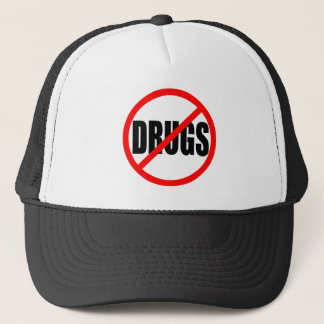 """NO DRUGS"" TRUCKER HAT"