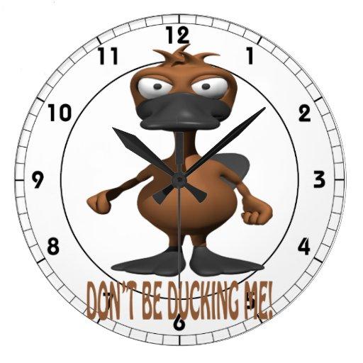 No ducking me reloj