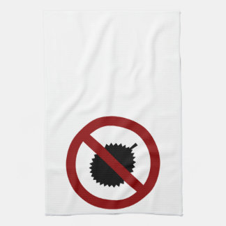 No Durian Kitchen Towels