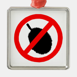 No Durian Sign Item Christmas Tree Ornament