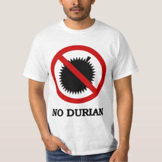 NO Durian Tropical Fruit Sign Shirt