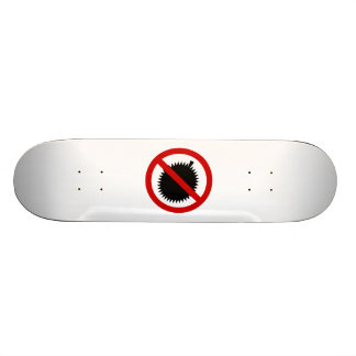 NO Durian Tropical Fruit ⚠ Thai Sign ⚠ Skateboard
