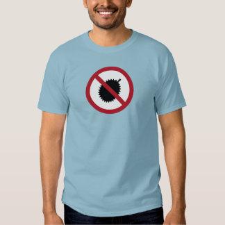 No Durians (1) Sign, Singapore T Shirt