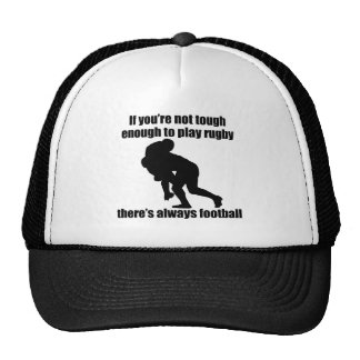 No duro bastante jugar a rugbi gorra