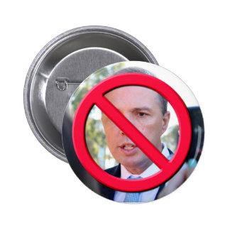 No Dutton Pinback Button