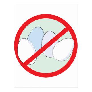 No Eggs Postcards