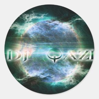No Ego Records Qazisun Classic Round Sticker