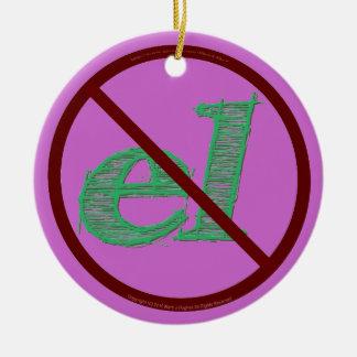 No     el ceramic ornament