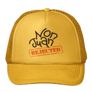 No el gorra del camionero amarillo de Juan