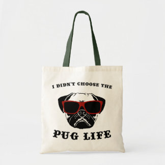 No elegí el perro fresco de la vida del barro bolsa tela barata