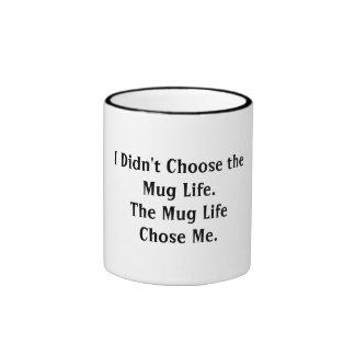 No elegí la vida de la taza