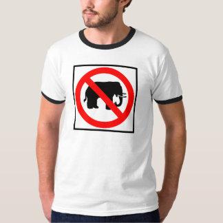 No Elephants Highway SIgn T-Shirt