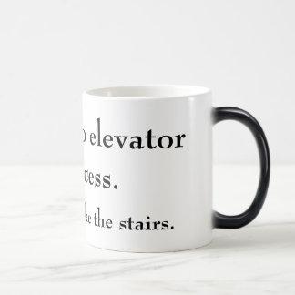 No Elevator Coffee Mugs