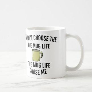 no eligió la vida de la taza. La vida de la taza