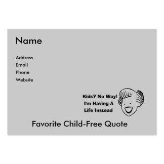 No embroma ninguna manera tarjeta de visita