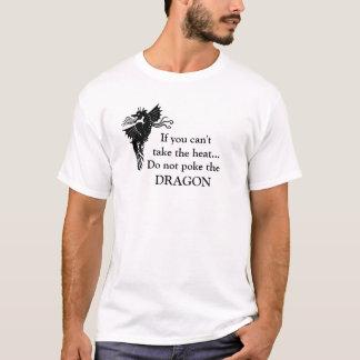 No empuje la camiseta del dragón
