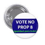 No en el apoyo 8 - insignia pin