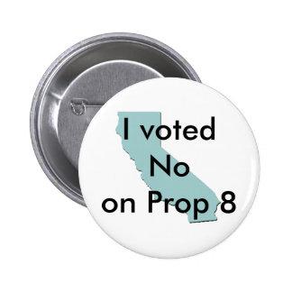 No en el botón del apoyo 8 pin redondo de 2 pulgadas