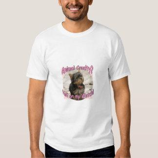 No en mi camiseta de las señoras del reloj playera