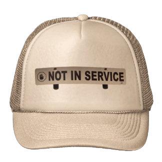No en servicio gorra