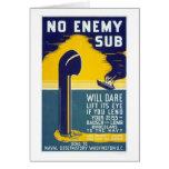 No enemy sub - WPA Card